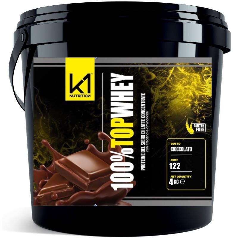 K1 NUTRITION 100% TOP WHEY 4 KG in vendita su Nutribay.it